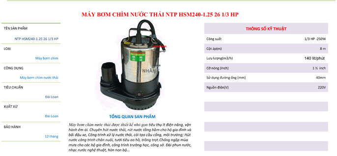 may-bom-chim-hut-nuoc-thai-ntp-hsm240125-26-1-3-hp