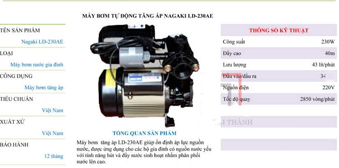 may-bom-tang-ap-tu-dong-nagaki-ld-230ae