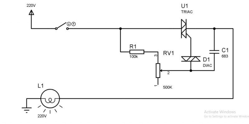 Diac có 2 điện cực là A1 ( hoặc MT1), A2 (hoặc MT2)
